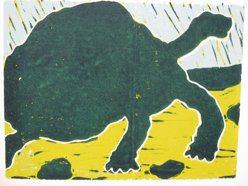 schildpad staat 3